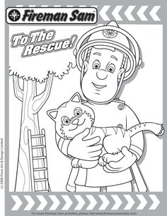 Printable Fireman Coloring Pages | Printable Firefighter Coloring ...