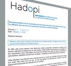 Hadopi : baisse de 20 % des avertissements en 2012