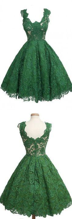 lace dress homecoming dress party dress vintage knee length dress