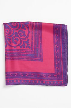 Etro Silk Pocket Square available at #Nordstrom