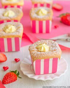 HOKKAIDO CHIFFON CUPCAKES Non lasciatevi ingannare dal nome: questi dolcetti sofficissimi non sono Giapponesi, ma arrivano da Malesia e Singapore! ✈ Li ... - Passami La Ricetta - Google+