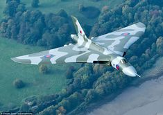 Majestic: But XH558's flying career was forced to end earlier than expected when BAE Syste...