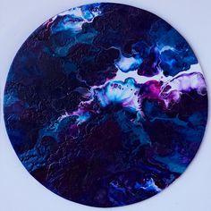 Isochronism - Jasper Hills Fluid acrylic painting Abstract fluid painting