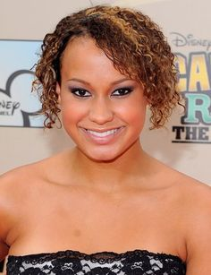 Short Curly Hairstyles For Round Faces African American Natural Hairstyles For Medium Length Hair