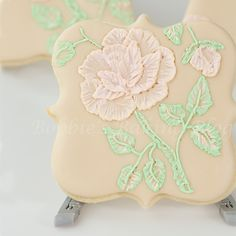 Victorian Embroidery  would look exquisite in a clear top box with a blush pink ribbon.
