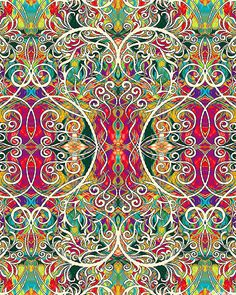 Paula Nadelstern - Chromazone - Filigree - Quilt Fabrics from www.eQuilter.com