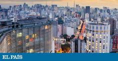 La avenida Paulista, el barrio de los restaurantes japoneses y el bar de la terraza del edificio Italia. Sorpresas en el centro financiero de Brasil