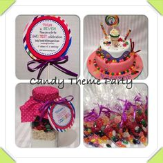 Candy Theme party favours!