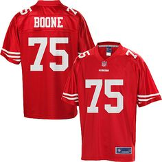 San Francisco 49ers Alex Boone Team Color Jersey