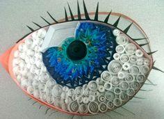 ad90097b0726ac738560523b17bb98a0.jpg 785×570 pixels  Paper quilling eye