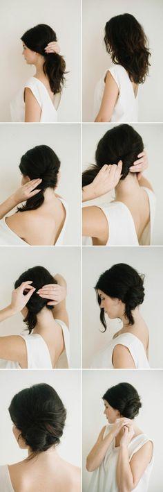 les dernières tendances chez les coiffures simples et rapides
