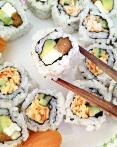 Salmon, Avocado and Cream Cheese
