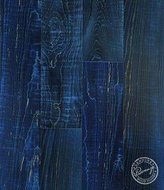 black blue wood flooring | ... Flooring - Moulin Rouge Provenza Hardwood Flooring - Endless Blue