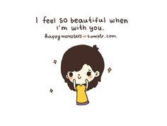 i feel so beautiful