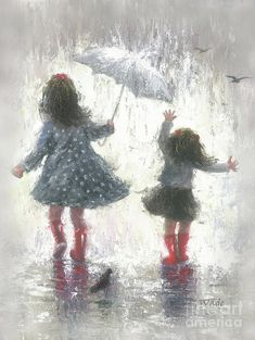Image result for boots in rain painting