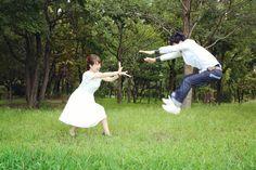 いいね!89件、コメント9件 ― haruさん(@haru_wdg)のInstagramアカウント: 「エンゲージメントフォト撮影  at 鶴見緑地公園   前撮りでよく見かけるカメハメ波ショット(,,•﹏•,,) photographer: @co1.k…」