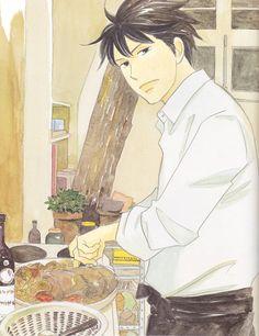 Shinichi Chiaki-Nodame cantabile- really like the guys who can cook Hot Anime Guys, Anime Love, Cartoon Live, Super Manga, Fan Art Anime, Otaku Mode, Manga Comics, Shoujo, Manhwa