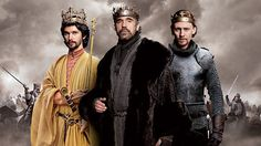 """The Hollow Crown"" from #BBC presents adaptations of Shakespeare's history plays, Richard II, Henry IV parts 1 & 2, and Henry V."
