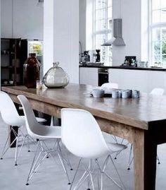 Eames Eiffel DSR Chairs