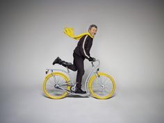 Philippe Starck: Pibal city bike for Peugeot Cycles