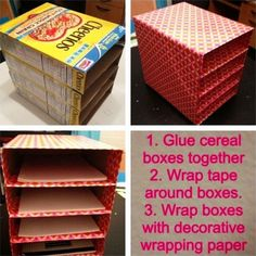 DIY organization ideas and craft organizing hacks #ArtAndCraftBedroom