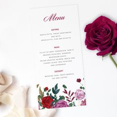 Also available are invitations, details cards, welcome sign, seating chart, place cards and much more. Wedding Suite, Rose Wedding, Wedding Desserts, Wedding Cakes, Invitation Suite, Invitations, Pecan Crusted Salmon, Mushroom Sauce, Fresh Vegetables