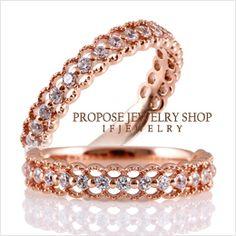 첫눈에 반할수밖에 없는 디자인! 다이아몬드 프로포즈, 14k, 18k, 반지, 목걸이, 귀걸이, 커플링, 선물 전문 이프쥬얼리