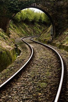 Tren Ferrol Betanzos by Jose Ramón Caamaño Sobrino