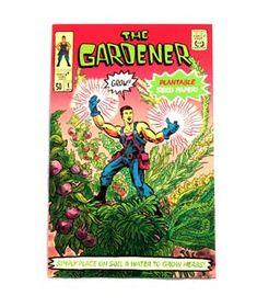 Plantable comic books