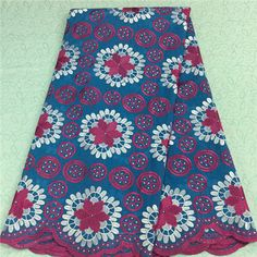 African Embroidery Lace Fabric LKLACE4130-4  https://www.lacekingdom.com/      #embroiderylace