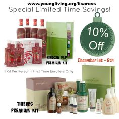 Great sales going on until December 5th!