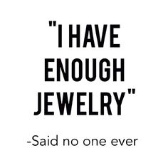 You can never have to much of a GLAMOROUS thing!!   add to your jewelry collection with beautiful pieces from www.lisastewartonline.com