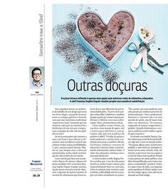 Título: Outras doçuras. Veículo: jornal Correio Braziliense. Data: 26/10/2014. Cliente: Editora Alaúde.