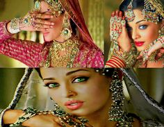 Aishwarya Rai Bachchan in Umrao Jaan. Love her jewelry!