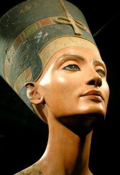 Nefertiti, rainha do Egito.