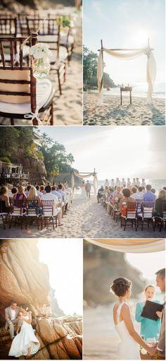 Una mágica boda en la playa de Puerto Vallarta.