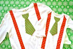 Matching big bro/little bro christmas shirts...so cute. FREE DIY too! www.MommysLilLove.blogspot.com