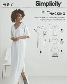 New Pattern Hack! How would spice up this simple shirt dress? . . . . #simplicitypatterns #sewing #patternhacking #patterns #diy #diyinspo…