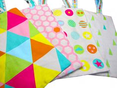 Bags to love: Geometric farbenmix Designstoff #farbenmix #fabric #graphic #geometric #fabriclove