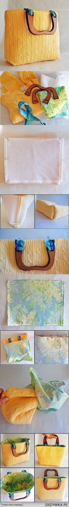 reclycling wool, de sweeter a bolso