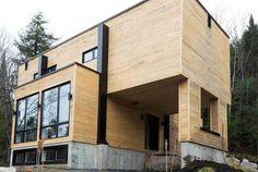 Elle a acheté quatre containers métalliques, et les a transformés pour construire une maison absolument sublime !