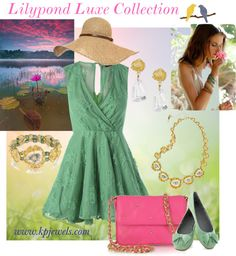 """Lilypond Luxe"" by kendra-pinca on Polyvore"