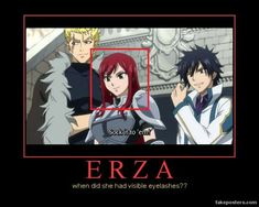 Fairy Tail || Out of everything that's happening we notice this... but fair point, since when?