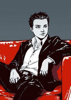 Classy Damian. SO classy.