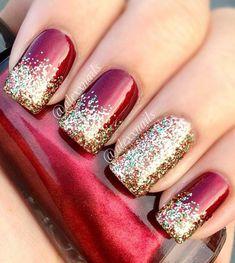 classy christmas nails - Recherche Google