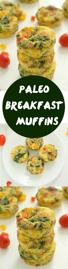 Mouthwatering paleo breakfast muffins that are so simple to make and are absolutely delicious!
