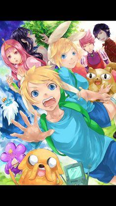 Adventure time an anime