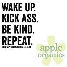 Yes!!! Happy Monday! #Happy #Monday #AnAppleADay #OrganicSkincare #AllNatural #Vegan #CrueltyFree #Beauty #SkinCare #SmallBatch #GreenBeauty #ecoSkincare #ShopSmall #GreenvilleSC #yeahTHATgreenville #HaveABeautifulDay #BeautifulSkinStartsHere #AppleOrganics