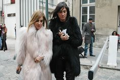 Carine Roitfeld & Emmanuelle Alt.....my favorite editors from my favorite Vogue, French Vogue.