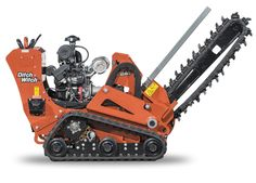 Rent a Barreto, Ditch Witch or Boxer trencher from The Home Depot Rental. 36 inch trenchers create a deep, wide trench for utility installation and more. Heavy Equipment Rental, Outdoor Power Equipment, Landscaping Equipment, Small Tractors, Industrial Machinery, Piece Auto, Bear Design, Go Kart, Cool Stuff